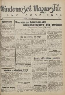 Wiadomości Mazurskie : pismo codzienne. 1946 (R. 2), nr 52
