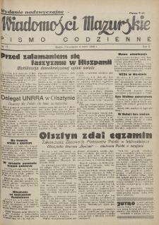Wiadomości Mazurskie : pismo codzienne. 1946 (R. 2), nr 53