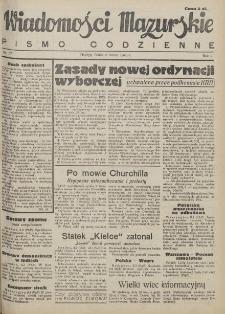 Wiadomości Mazurskie : pismo codzienne. 1946 (R. 2), nr 57