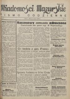 Wiadomości Mazurskie : pismo codzienne. 1946 (R. 2), nr 58