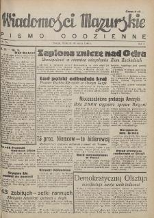 Wiadomości Mazurskie : pismo codzienne. 1946 (R. 2), nr 59