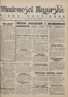 Wiadomości Mazurskie : pismo codzienne. 1946 (R. 2), nr 66