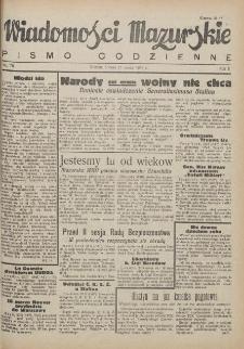 Wiadomości Mazurskie : pismo codzienne. 1946 (R. 2), nr 70