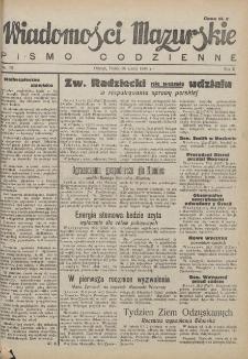 Wiadomości Mazurskie : pismo codzienne. 1946 (R. 2), nr 75