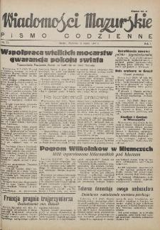 Wiadomości Mazurskie : pismo codzienne. 1946 (R. 2), nr 77