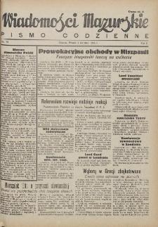 Wiadomości Mazurskie : pismo codzienne. 1946 (R. 2), nr 78