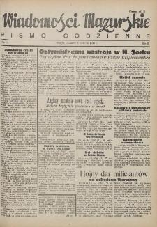 Wiadomości Mazurskie : pismo codzienne. 1946 (R. 2), nr 80