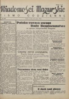 Wiadomości Mazurskie : pismo codzienne. 1946 (R. 2), nr 85 (96)