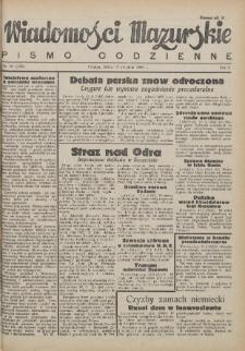 Wiadomości Mazurskie : pismo codzienne. 1946 (R. 2), nr 91 (102)