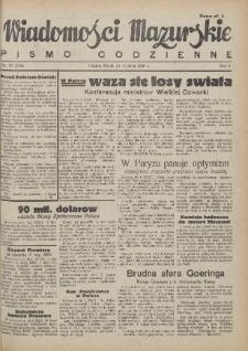 Wiadomości Mazurskie : pismo codzienne. 1946 (R. 2), nr 97 (108)
