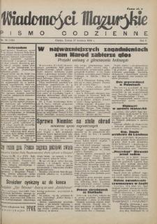 Wiadomości Mazurskie : pismo codzienne. 1946 (R. 2), nr 98 (109)