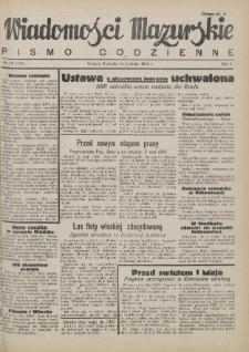 Wiadomości Mazurskie : pismo codzienne. 1946 (R. 2), nr 99 (110)