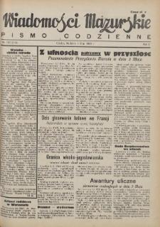 Wiadomości Mazurskie : pismo codzienne. 1946 (R. 2), nr 103 (114)