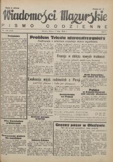 Wiadomości Mazurskie : pismo codzienne. 1946 (R. 2), nr 104 (115)