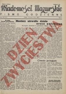 Wiadomości Mazurskie : pismo codzienne. 1946 (R. 2), nr 106 (117)