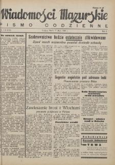 Wiadomości Mazurskie : pismo codzienne. 1946 (R. 2), nr 112 (123)