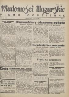 Wiadomości Mazurskie : pismo codzienne. 1946 (R. 2), nr 116 (127)
