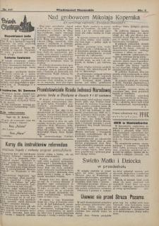 Wiadomości Mazurskie : pismo codzienne. 1946 (R. 2), nr 121 (132)