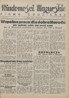 Wiadomości Mazurskie : pismo codzienne. 1946 (R. 2), nr 132 (143)