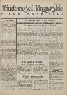 Wiadomości Mazurskie : pismo codzienne. 1946 (R. 2), nr 133 (144)