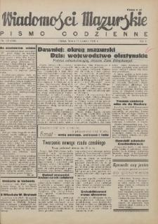 Wiadomości Mazurskie : pismo codzienne. 1946 (R. 2), nr 135 (146)