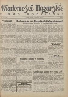 Wiadomości Mazurskie : pismo codzienne. 1946 (R. 2), nr 137 (148)