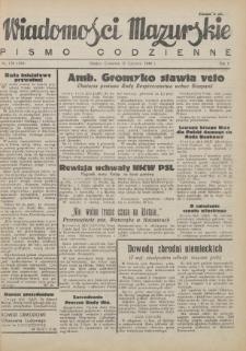 Wiadomości Mazurskie : pismo codzienne. 1946 (R. 2), nr 139 (150)