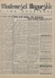 Wiadomości Mazurskie : pismo codzienne. 1946 (R. 2), nr 145 (156)