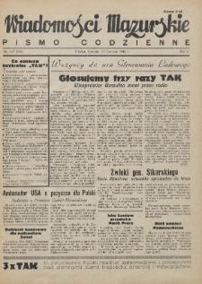 Wiadomości Mazurskie : pismo codzienne. 1946 (R. 2), nr 147 (158)