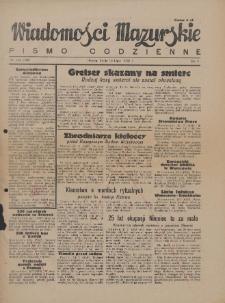 Wiadomości Mazurskie : pismo codzienne. 1946 (R. 2), nr 155 (166)
