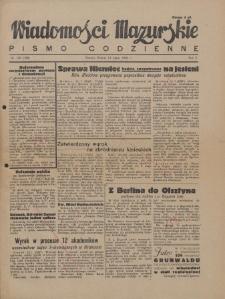 Wiadomości Mazurskie : pismo codzienne. 1946 (R. 2), nr 158 (169)