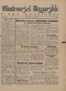 Wiadomości Mazurskie : pismo codzienne. 1946 (R. 2), nr 163 (174)