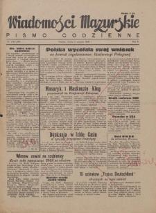 Wiadomości Mazurskie : pismo codzienne. 1946 (R. 2), nr 176 (187)