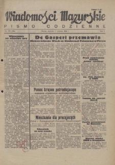 Wiadomości Mazurskie : pismo codzienne. 1946 (R. 2), nr 183 (194)