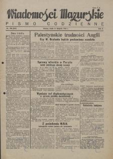 Wiadomości Mazurskie : pismo codzienne. 1946 (R. 2), nr 190 (201)