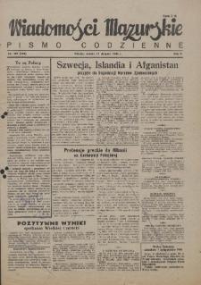 Wiadomości Mazurskie : pismo codzienne. 1946 (R. 2), nr 199 (200)