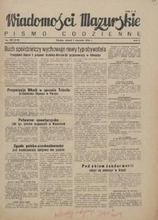 Wiadomości Mazurskie : pismo codzienne. 1946 (R. 2), nr 201 (212)