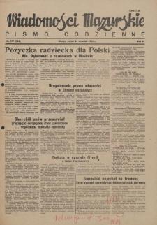 Wiadomości Mazurskie : pismo codzienne. 1946 (R. 2), nr 217 (228)