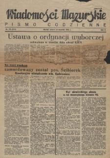 Wiadomości Mazurskie : pismo codzienne. 1946 (R. 2), nr 220 (231)