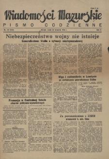Wiadomości Mazurskie : pismo codzienne. 1946 (R. 2), nr 221 (232)