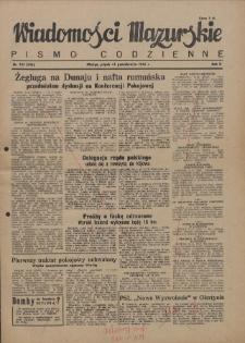Wiadomości Mazurskie : pismo codzienne. 1946 (R. 2), nr 235 (246)