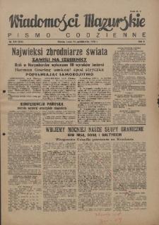 Wiadomości Mazurskie : pismo codzienne. 1946 (R. 2), nr 239 (250)