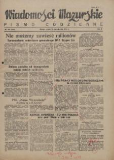 Wiadomości Mazurskie : pismo codzienne. 1946 (R. 2), nr 247 (258)
