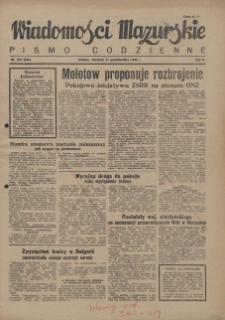 Wiadomości Mazurskie : pismo codzienne. 1946 (R. 2), nr 252 (263)