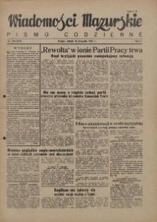 Wiadomości Mazurskie : pismo codzienne. 1946 (R. 2), nr 265 (276)