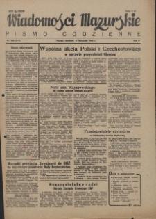 Wiadomości Mazurskie : pismo codzienne. 1946 (R. 2), nr 266 (277)