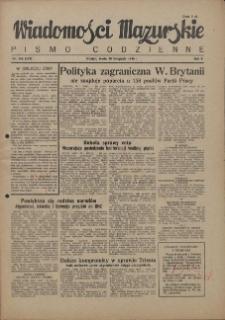 Wiadomości Mazurskie : pismo codzienne. 1946 (R. 2), nr 268 (279)