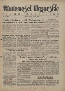 Wiadomości Mazurskie : pismo codzienne. 1946 (R. 2), nr 274 (285)