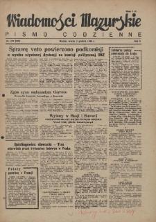 Wiadomości Mazurskie : pismo codzienne. 1946 (R. 2), nr 279 (290)