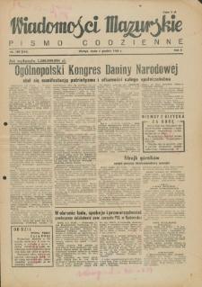 Wiadomości Mazurskie : pismo codzienne. 1946 (R. 2), nr 280 (291)